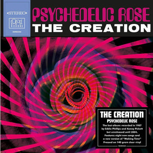 THE CREATION - PSYCHEDELIC ROSE - VINYL LP - Wah Wah Records