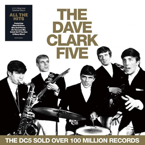 THE DAVE CLARK FIVE - ALL THE HITS - VINYL LP - Wah Wah Records