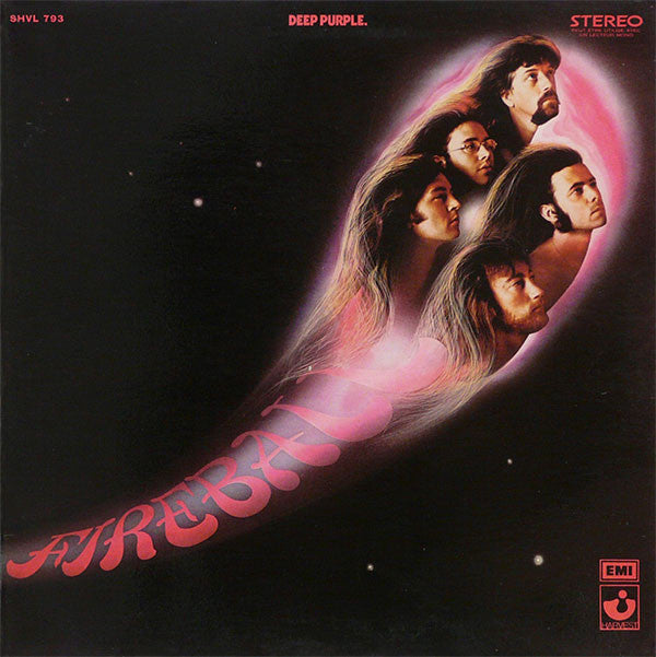 DEEP PURPLE - FIREBALL - LTD EDITION PURPLE VINYL LP - Wah Wah Records