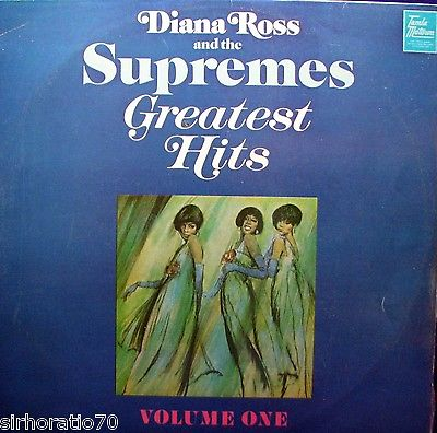 Diana Ross & The Supremes - Greatest Hits Vol.1 - VINYL LP - Wah Wah Records