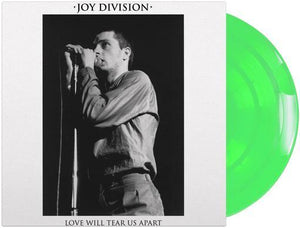 JOY DIVISION - LOVE WILL TEAR US APART - LTD EDTION GLOW IN THE DARK VINYL 12'' - Wah Wah Records