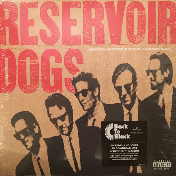 RESERVOIR DOGS - ORIGINAL MOTION PICTURE SOUNDTRACK - VINYL LP - Wah Wah Records