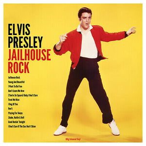 ELVIS PRESLEY - JAILHOUSE ROCK - COLOURED VINYL LP - Wah Wah Records