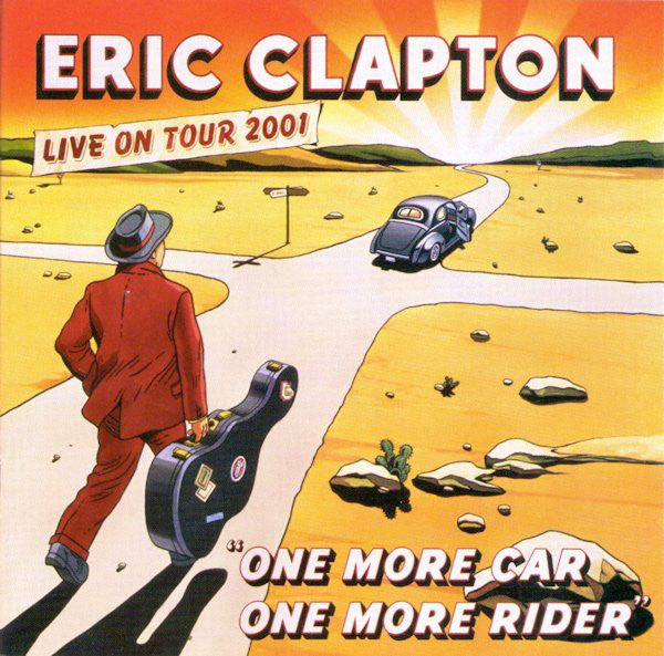 ERIC CLAPTON - ONE MORE CAR ONE MORE RIDER - VINYL 3LP - Wah wah Recordss