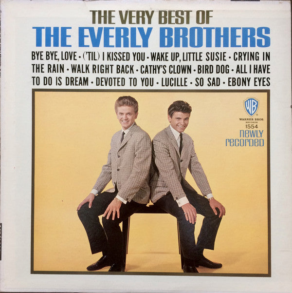 THE EVERLY BROTHERS - THE VERY BEST OF THE EVERLY BROTHERS - VINYL LP - Wah Wah Records