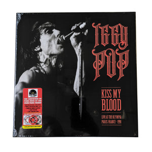 IGGY POP - KISS MY BLOOD LIVE IN PARIS 1991 - 3LP VINYL - RSD 2020
