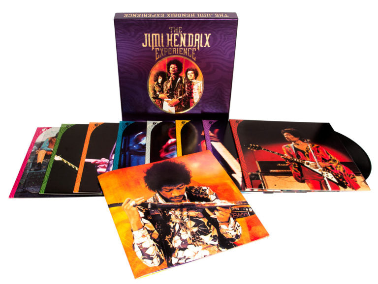 JIMI HENDRIX - THE JIMI HENDRIX EXPERIENCE - 8LP VINYL BOX SET - Wah Wah Records