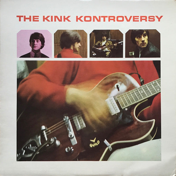 THE KINKS - KONTROVERSY - VINYL LP - Wah Wah Records