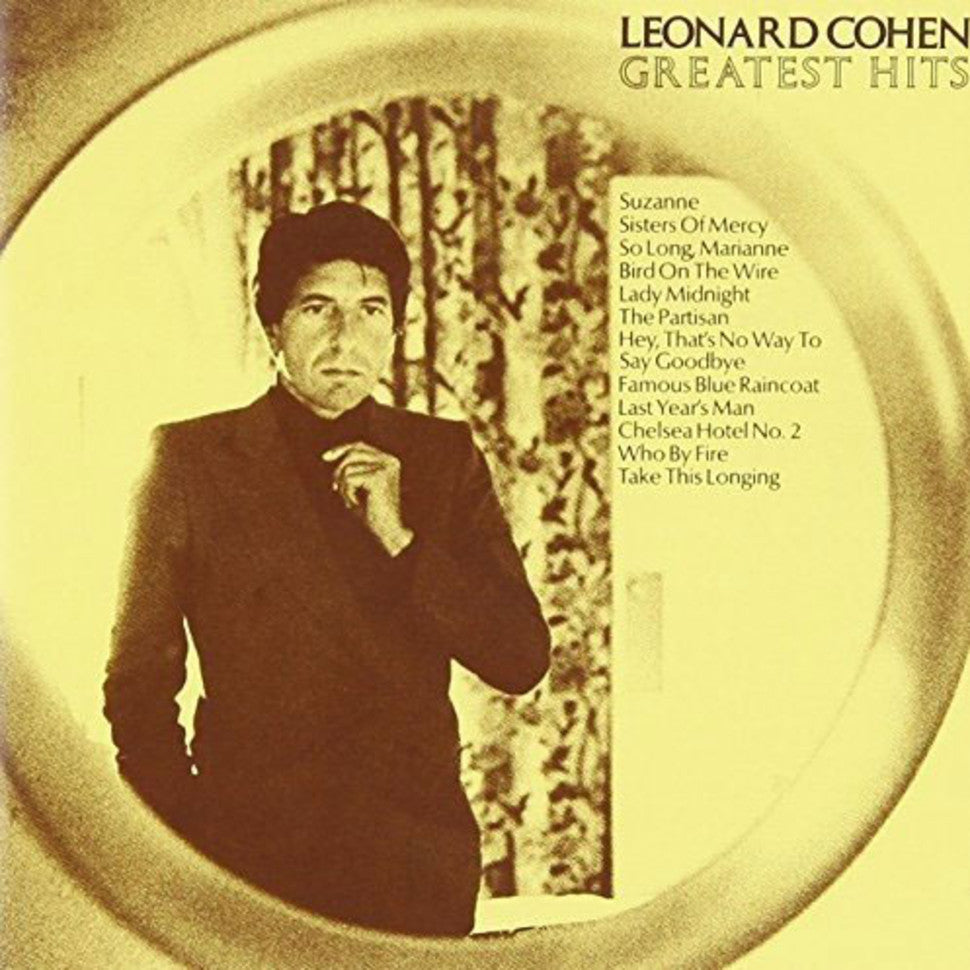 LEONARD COHEN - GREATEST HITS - VINYL LP - Wah Wah Records