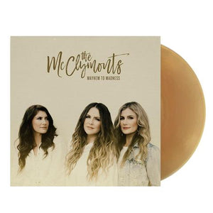 THE MCCLYMONTS - MAYHEM TO MADNESS - Gold VINYL - LP - Wah Wah Records