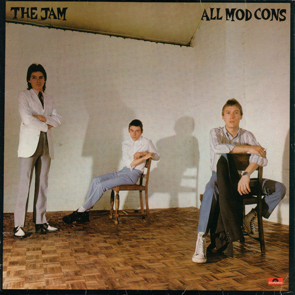THE JAM - ALL MOD CONS - VINYL LP - Wah Wah Records