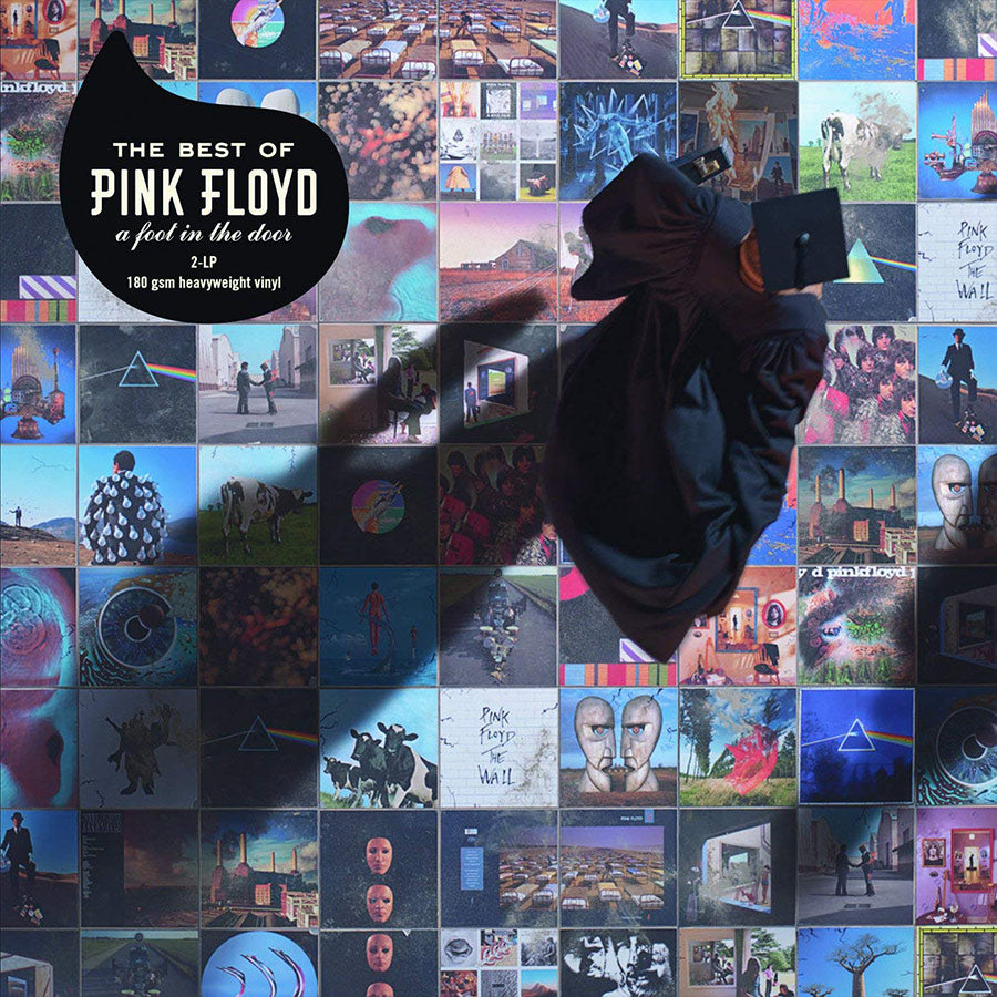 PINK FLOYD - A FOOT IN THE DOOR- THE BEST OF PINK FLOYD - 2LP VINYL -Wah Wah Records