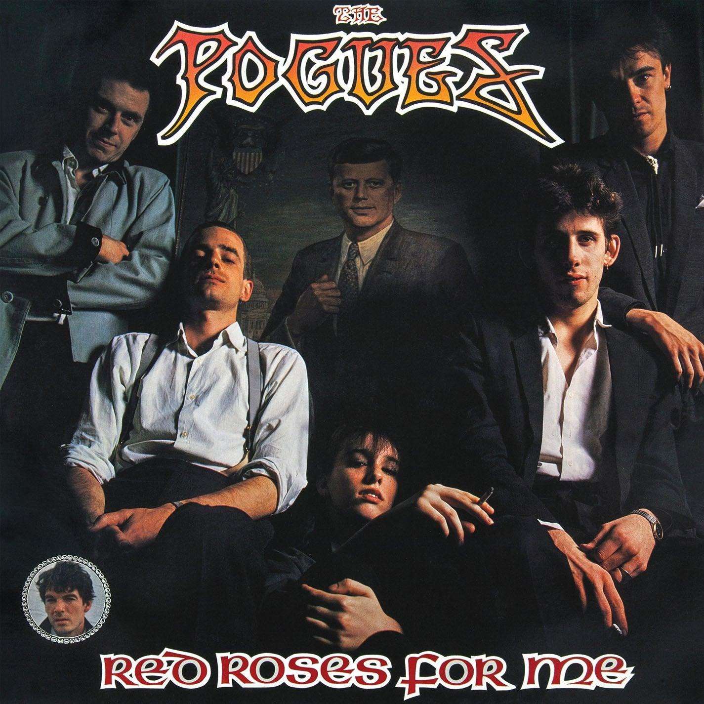 THE POGUES - RED ROSES FOR ME - VINYL LP - Wah Wah Records