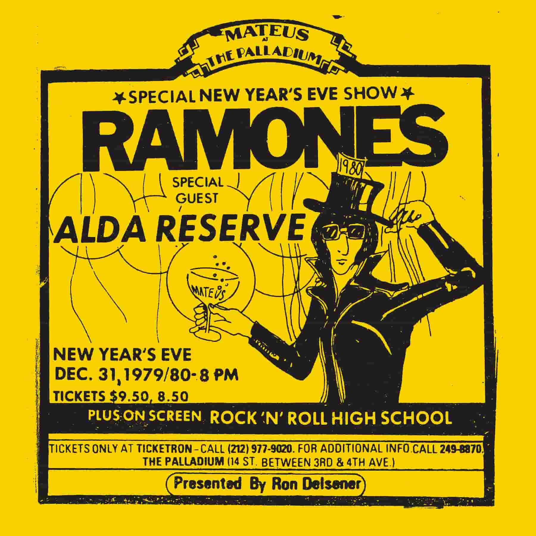 Ramones- Live At The Palladium- 1979 'First time on Vinyl' (2Lp)