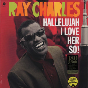 RAY CHARLES - HALLELUJAH I LOVE HER SO! - (Ltd Ed) VINYL LP - Wah Wah Records