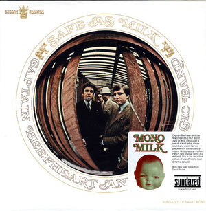 Captain Beefheart and His Magic Band- Safe As Milk- Vinyl LP - Wah Wah Records