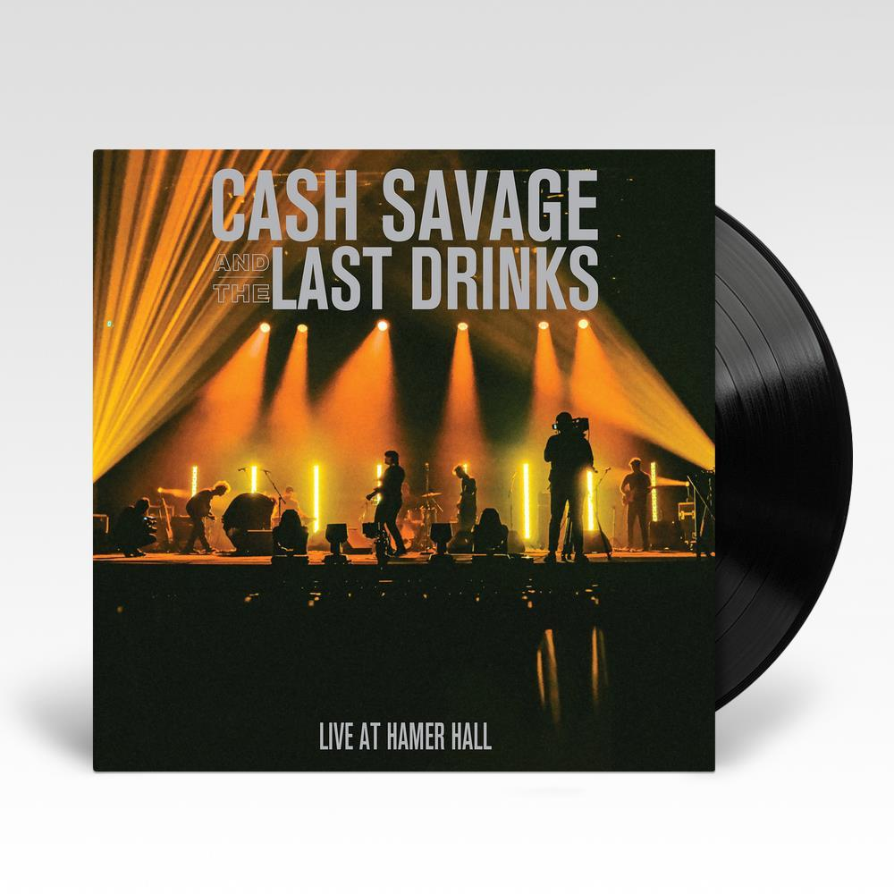CASH SAVAGE AND THE LAST DRINKS - LIVE AT HAMER HALL - VINYL LP - Wah Wah Records
