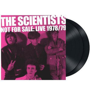 THE SCIENTISTS - NOT FOR SALE: LIVE 1978/79 - 2LP VINYL - Wah Wah Records