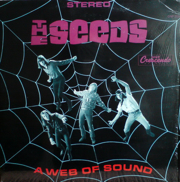 THE SEEDS - A WEB OF SOUND - DELUXE GATEFOLD EDITION - 2LP VINYL - Wah Wah Records