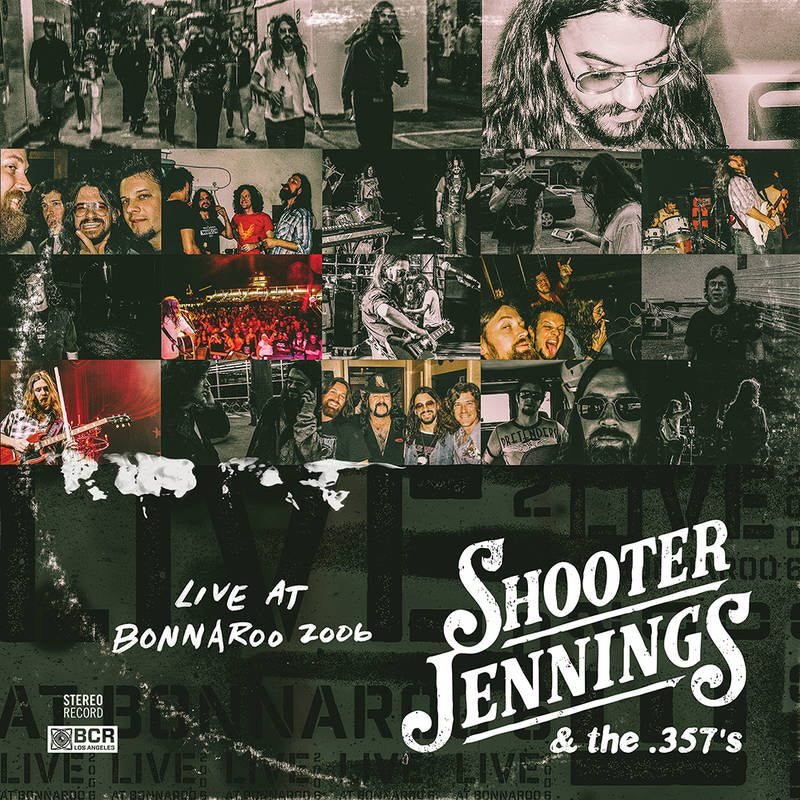 SHOOTER JENNINGS & THE .357'S - LIVE AT BONNAROO 2006- 2LP RED & BLUE VINYL - RSD 2020