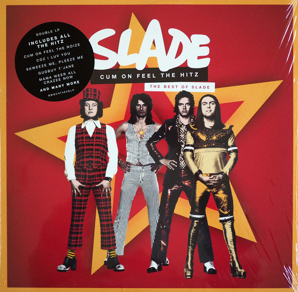 SLADE - CUM ON FEEL THE HITZ: THE BEST OF - VINYL 2LP - Wah Wah Records