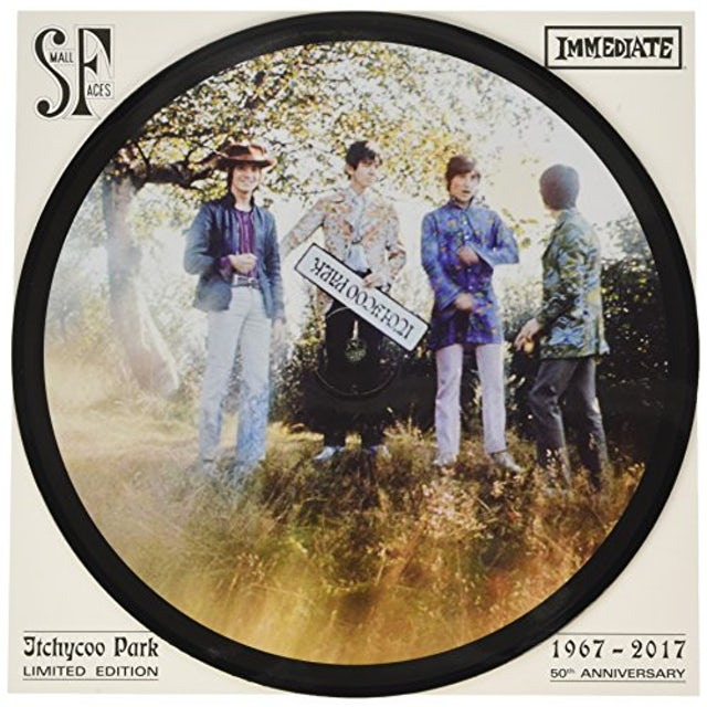 SMALL FACES - ITCHYCOO PARK - LTD EDITION - PICTURE DISC - VINYL LP - Wah Wah Records