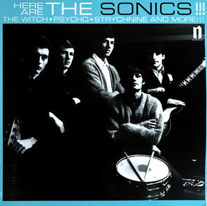 HERE ARE THE SONICS!!! -  THE SONICS - VINYL LP - Wah Wah Records
