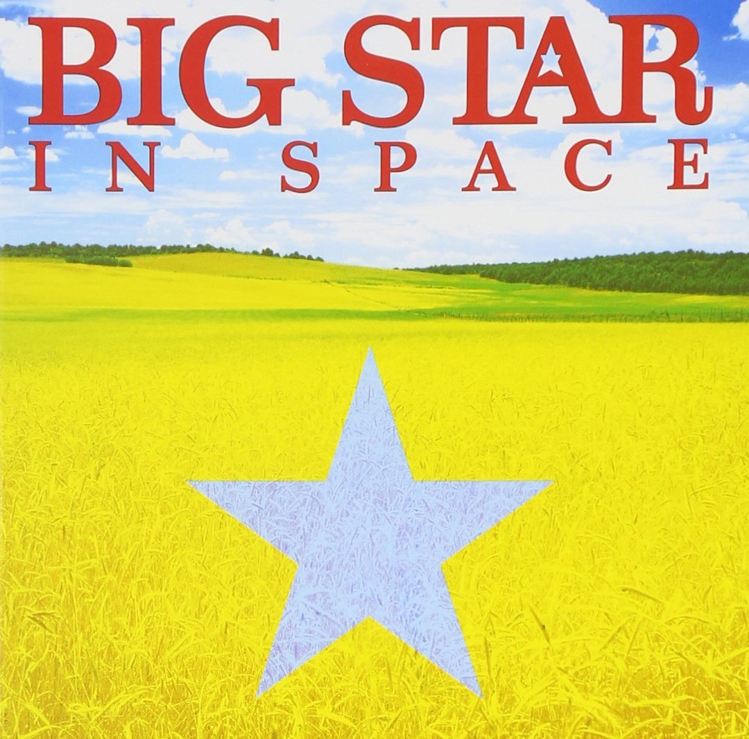 BIG STAR - IN SPACE - TRANSLUCENT BLUE VINYL LP - Wah Wah Records