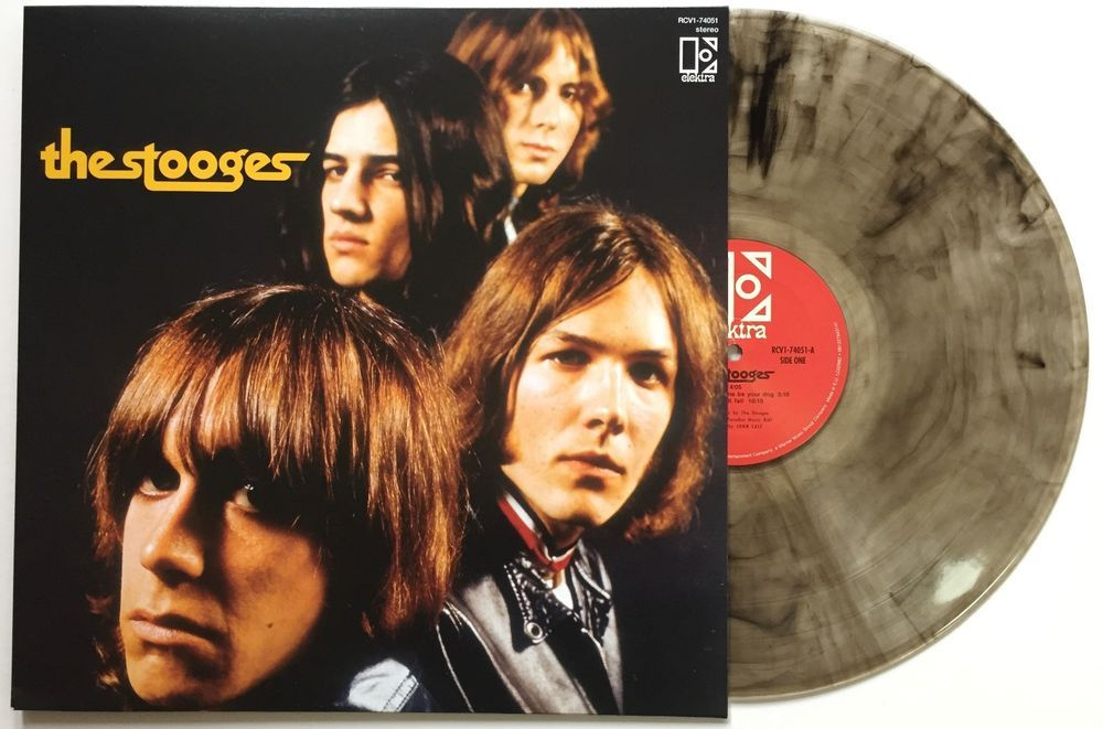 THE STOOGES - THE STOOGES - COLOURED VINYL LP - Wah Wah Records