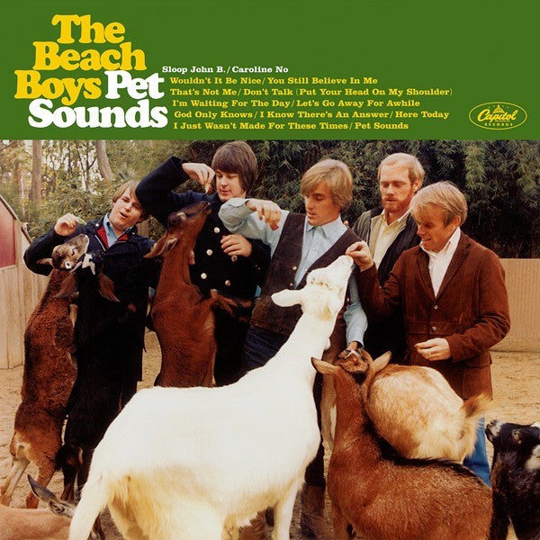The Beach Boys - Pet Sounds - Vinyl LP - Wah Wah Records