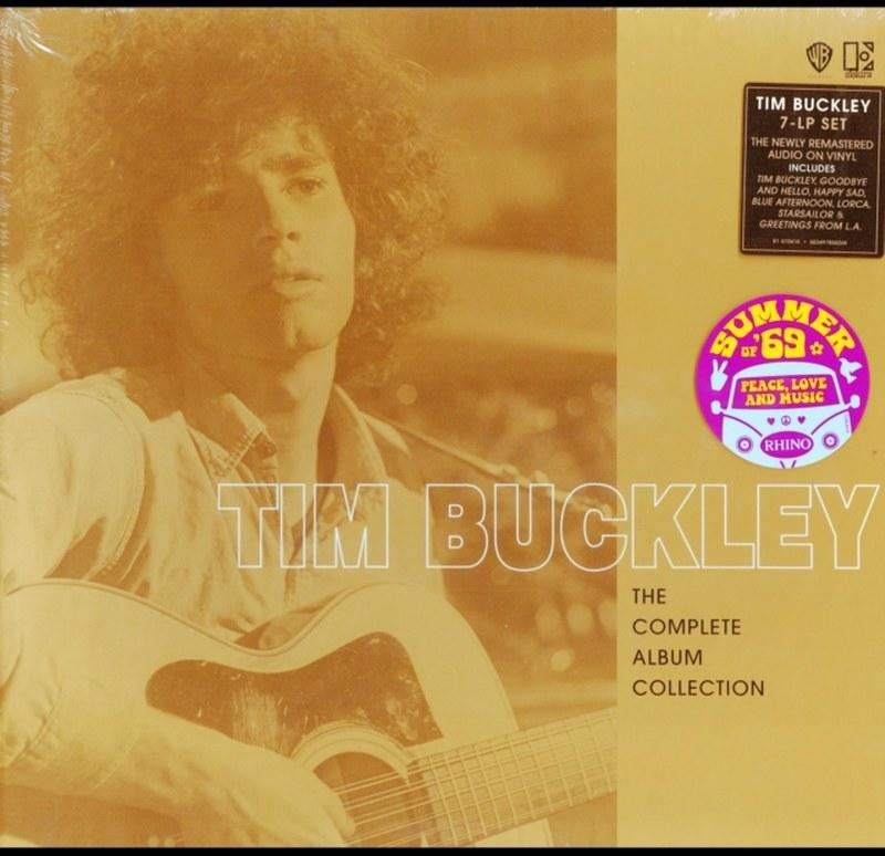 TIM BUCKLEY - THE COMPLETE ALBUM COLLECTION - 7LP BOX SET VINYL - Wah Wah Records