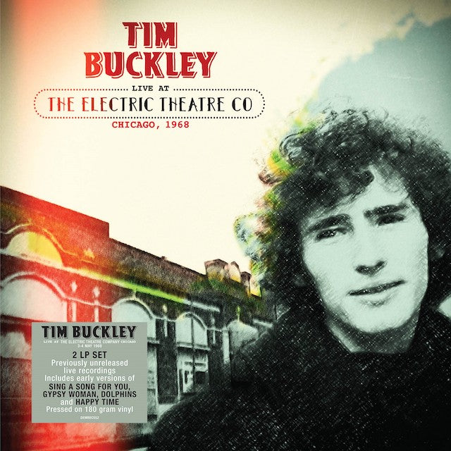 TIM BUCKLEY - LIVE AT THE ELECTRIC THEATRE CO CHICAGO, 1968 - 2LP VINYL - Wah Wah Records