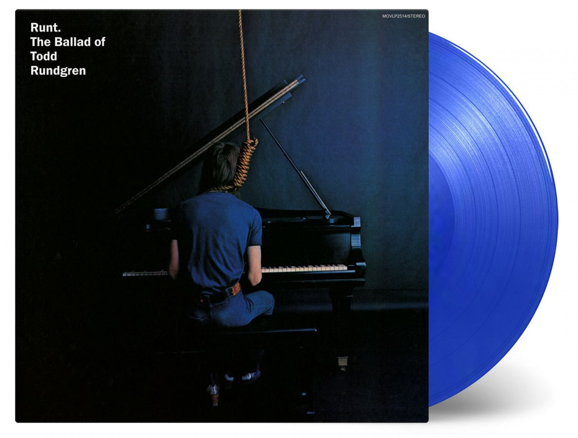 TODD RUNDGREN - RUNT - THE BALLAD OF TODD RUNDGREN - LTD EDITION BLUE VINYL LP - Wah Wah Records