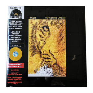 TANGERINE DREAM - TYGER - INDIE EXCLUSIVE - VINYL LP - RSD 2020