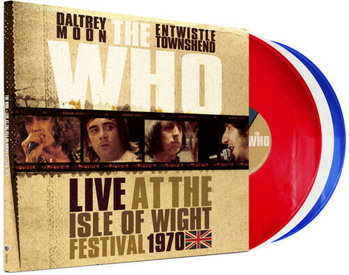 THE WHO - LIVE AT THE ISLE OF WIGHT FESTIVAL 1970 - 3LP VINYL - Wah Wah Records