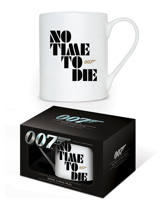 James Bond (No Time To Die) Bone China Mug