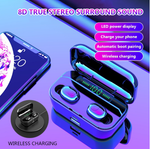 2019 Latest Style Wireless Earbuds(mobile phone charging bin)