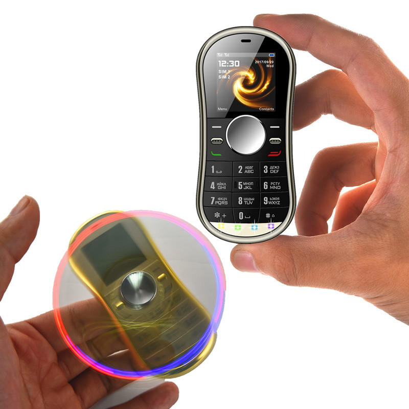 Finger Gyro Reduce Stress Feature Phone - Gold