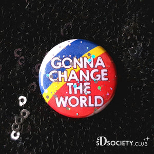 "Captain EO ""Change The World"" - Button/Badge"