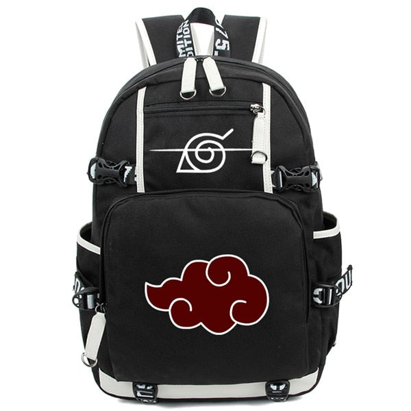 Naruto Backpack, Akatsuki Sharingan Printing