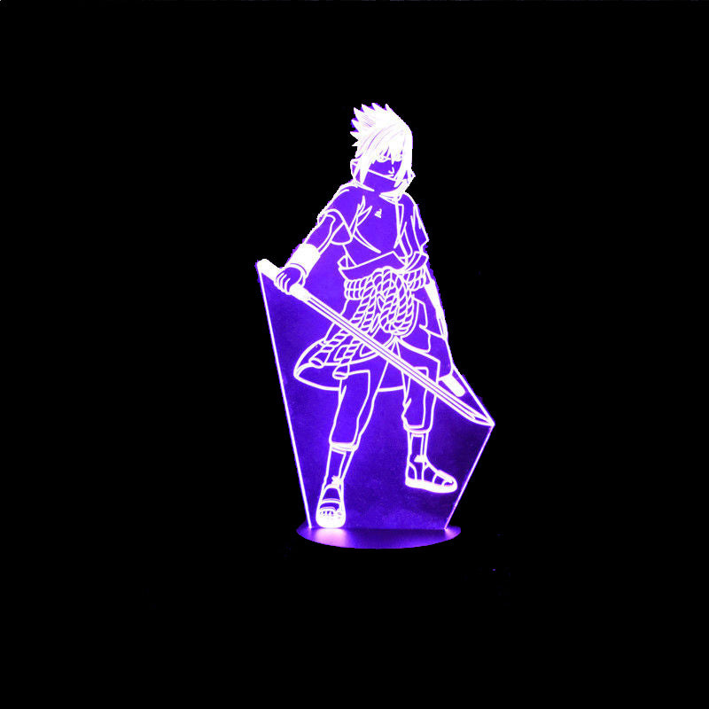 7 Color Changing Sasuke Lamp