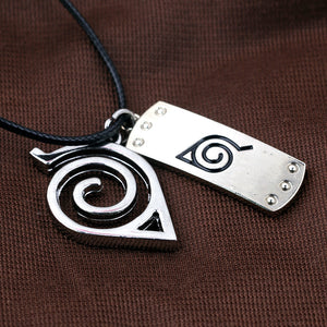 Naruto Konoha  Necklace