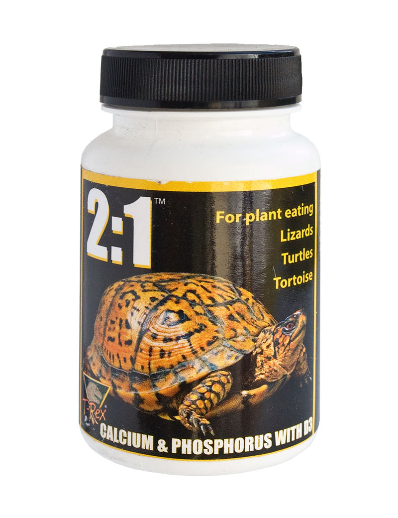 T-Rex Reptile Vitamin Supplement - 2:1 Calcium & Phosphorus with D3