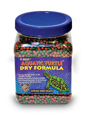 T-Rex Aquatic Turtle Food - Juvenile Dry Formula