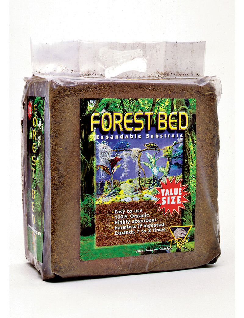 T-Rex Reptile Terrarium Substrate - Forest Bed - Giant Block