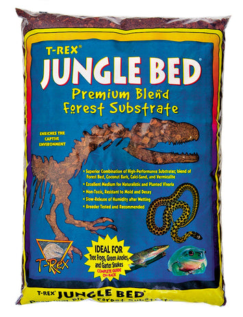 T-Rex Reptile Terrarium Substrate - Jungle Bed