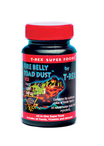 T-Rex Fire Belly Toad Supplement - Calcium Plus