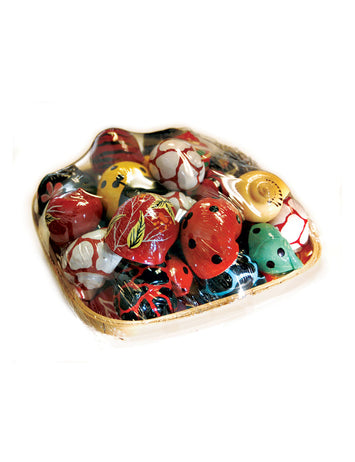 T-Rex Hermit Crab Decorative Home Medium Shell (35 Shells in a basket)
