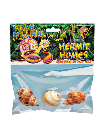 T-Rex Hermit Crab Home Small Shell (3 pk)