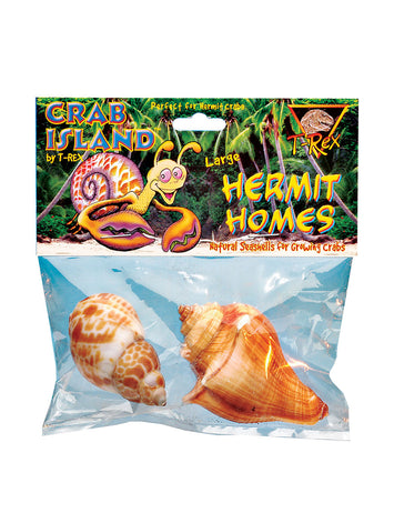 T-Rex Hermit Crab Home Large Shell (2 pk)